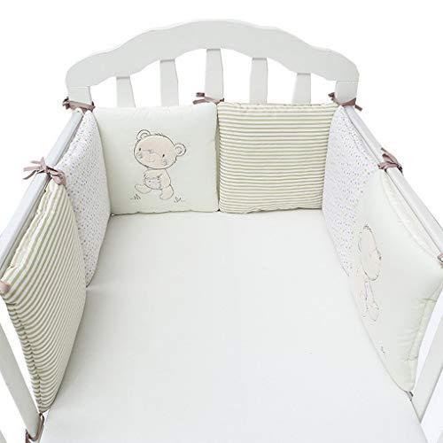 ACMEDE Bettumrandung Nest Kopfschutz Nestchen Bettumrandung für Babybett Baby Nest Kopfschutz Nestchen Bettnestchen Baby Kantenschutz 30 * 30cm