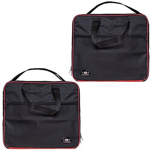 1 Paar Innentaschen für BMW R1200GS Adventure Aluminium Packtaschen von 2015-2019 rot/schwarz Farbe tolle Qualität