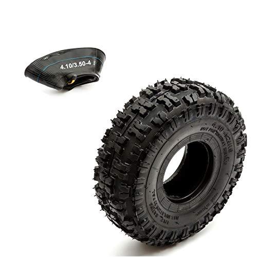 Neumático & Interior Tubo 4.10-4 Protuberante Off Road Profundo Surcos 49cc Buggy 410-4 4 Inch