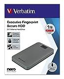 Executive Fingerprint Secure Tragbare USB-C-Festplatte 1 TB