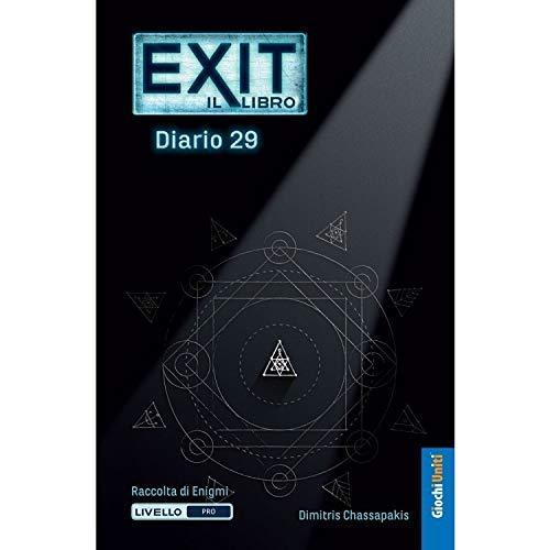 Giochi Uniti Exit Gioco Tavolo, Diario 29, Multicolore