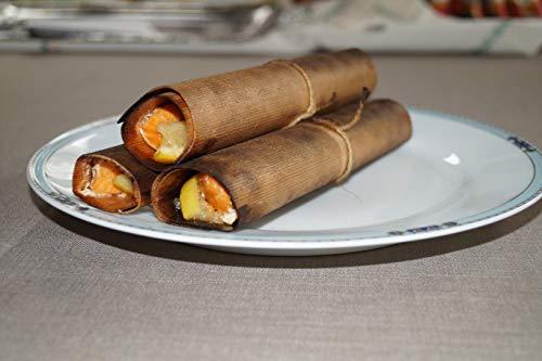 41swau2DQzL - grillart® Premium BBQ Wood Wraps - 12 Pack XL Grillpapier – Zedernholz zum Grillen – Räucherpapier aus Zedernholz für einen besonderen Grillgeschmack