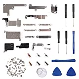 Internal Metal Plate Cover Parts for iPhone 8 Plus, MELIFE Bracket Replacement Inlcuding Complete Full Screw Set w Reapir Tool Kit for iPhone 8 Plus