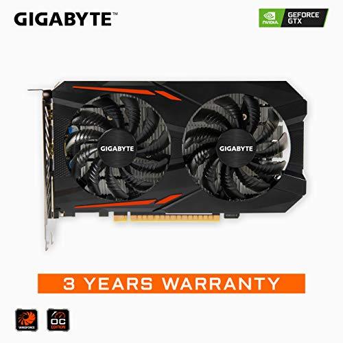 Gigabyte Geforce GTX 1050 Ti OC 4GB GDDR5 128 Bit PCI-E Graphic Card (GV-N105TOC-4GD)