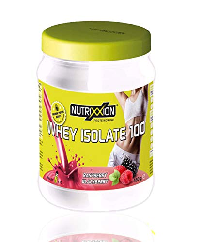 NUTRIXXION® HIGH PROTEIN & LOW SUGAR SHAKE | MADE IN GERMANY | Set 450g, Geschmack Himbeere-Brombeere