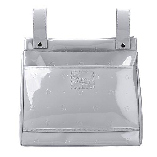 Baby Star M20-66 - Bolso panera para silla universal, color gris