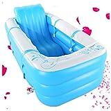TYUIO Aufblasbare Badewanne PVC Tragbare Erwachsene Badewanne Badezimmer SPA mit