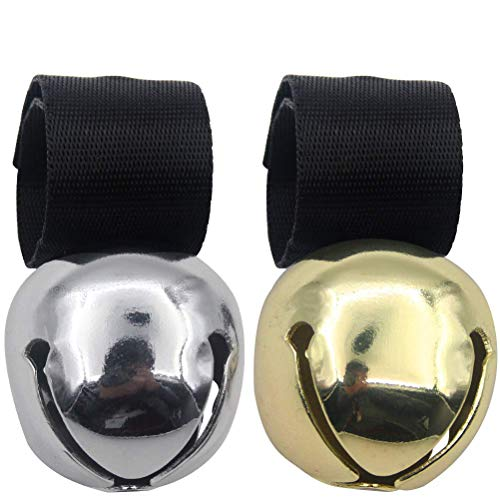 Large Dog Collar Bell for Training, Hiking, Walking, Hunting(Bear Bell, Cow Bell)