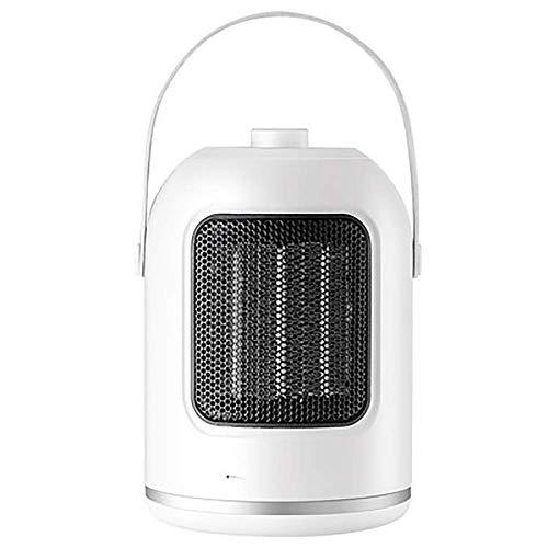 AJH Calentadores de Espacio eléctricos portátiles Fast Heat Mini Calentador portátil Personal, protección contra sobrecalentamiento, Temperatura Constante silenciosa, Calentador po