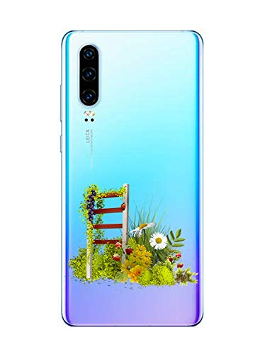Suhctup Funda Compatible con Huawei P9 Plus Transparent,Carcasa Protección Silicona Gel TPU Bumper Moda Dibujos Protector Piel Ultra Pulgadas Anti Choques Estuche Case para Huawei P9 Plus(7)