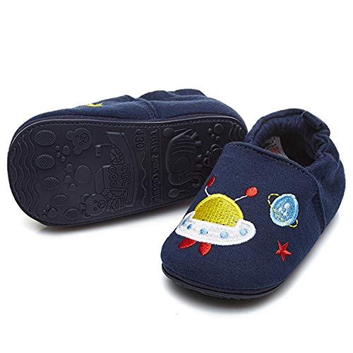 TIMATEGO Toddler Baby Boys Girls Shoes Non Skid Slipper Sneaker Moccasins Infant First Walker House Walking Crib Shoes(6-24 Months) 18-24 Months...