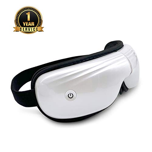 Belovedone Eye Massager with Heat Temple Massager Air Compression Vibrating for Dark Circle Tired...