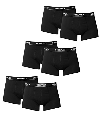Head Herren Boxershort schwarz schwarz Medium