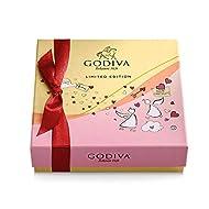 GODIVA Chocolatier Valentine's Day Assorted Chocolate Gift Box, 9 pc.