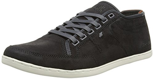 Boxfresh Herren Sparko UG WXD SDE SHW/CHRM YEL Low-Top, Grau (DK SHADOW/CHROME YELLOW), 41 EU