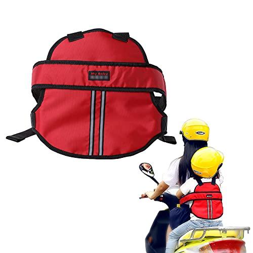 Motorrad Gurtzeug, Kraeoke Kinder Motorrad Kindersitz Elektroauto Gurtzeug Stil Sicherheitsgurte Absturzsicherung(Zufällige Farbe)