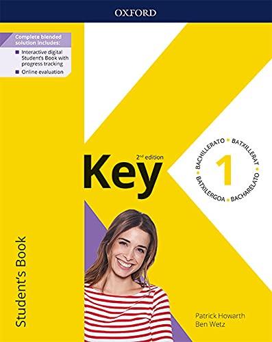 Key to Bachillerato 1. Student's Book. 2 Edition (Key to Bachillerato 2ed)