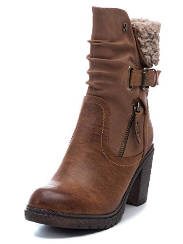 REFRESH 69301 Femme Boots Fauve 41 EU