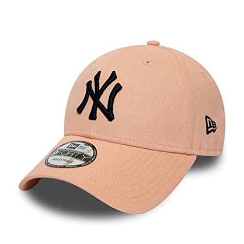 New Era New York Yankees 9forty Adjustable Cap - League Essential - Rose/Navy - One-Size