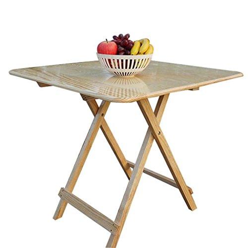 Li Ye Feng Shop Utility Tabellen Vouwtafel massief hout huishoudelijke outdoor eettafel eenvoudig licht draagbare opklapbare tafel 4 personen IKEA klein appartement eettafel student leren bureau