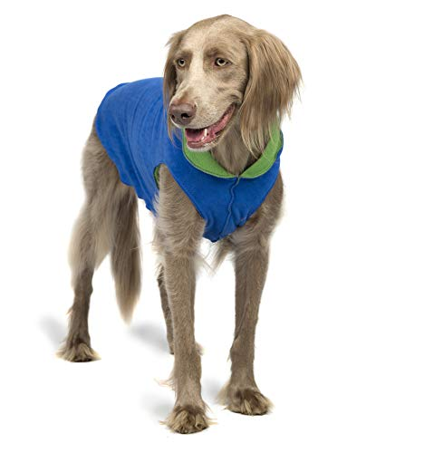 Gold Paw Duluth Double Fleece Dog Coat Pullover...