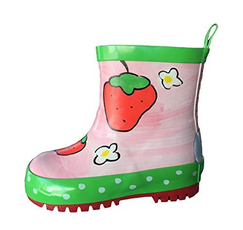 Gummistiefel Erdbeere