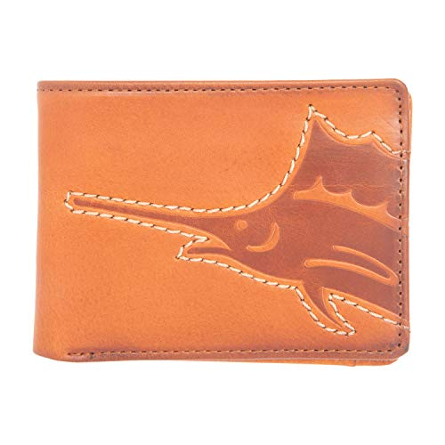 Price comparison product image Tommy Bahama Men's Slimfold Wallet,  tan casual,  One Size