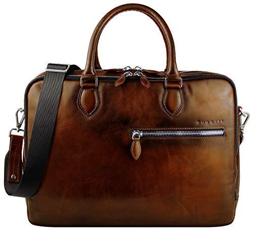 Bugatti Domus Businesstasche für Damen und Herren mit 15