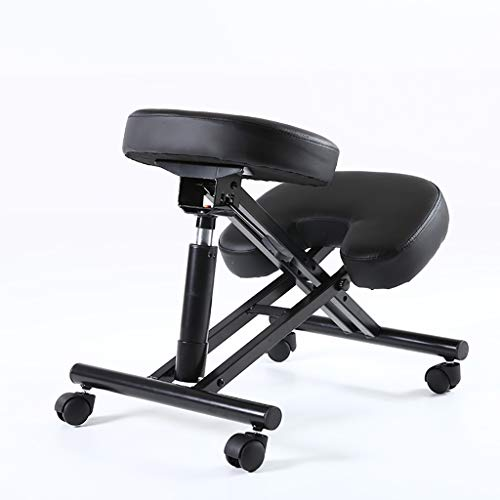 Headstand Bench Yoga Inversion Trainer Sleek Form Ergonomic Kneeling Chair For Home Or Office,Adjustable Height Posture Correcting Chair For Classroom, Perfect For Relieving Back And Neck Pain & Impro