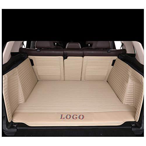 LUVCARPB Alfombrillas Interiores para Maletero de Coche, aptas para BMW 5 Series F10 F11 F07 E39 E60 E61 GT 520i 523i, Accesorios Impermeables para alfombras de Coche