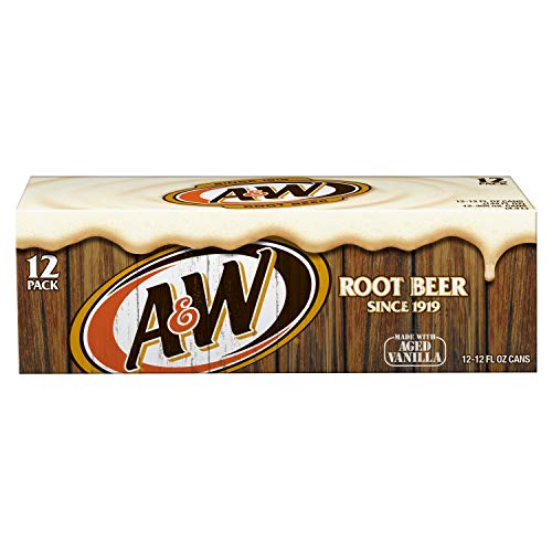 A&W Root Beer Org. 12 oz. (355 mL) - 24 Pack