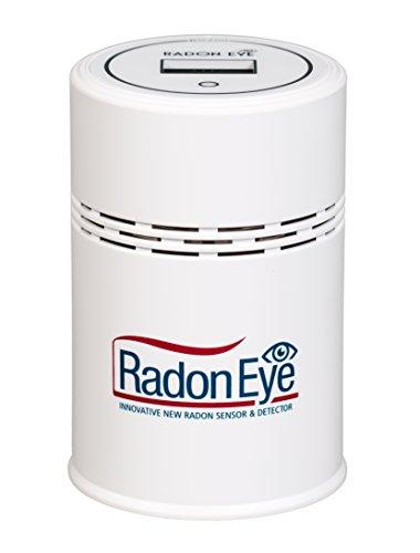 RadonSTOP® | RadonEye - Das Radonmessgerät für Ihr Zuhause | Schnell & sicher Radon messen | Mit Handy APP | Radon in Echtzeit messen und Daten exportieren
