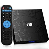 USBNOVEL Android TV Box,Upgrade 10.0 4GB RAM 32GB ROM Smart TV Box,Quad Core 64 Bits/Dual WiFi 2.4/5GHz WiFi Bluetooth4.0, HDMI 2.0 Support 100M LAN 4K 3D/H.265 Android Box