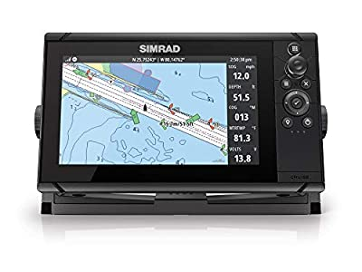 Simrad Cruise-9 Chart Plotter with 9-inch Screen and US Coastal Maps Installed from Simrad
