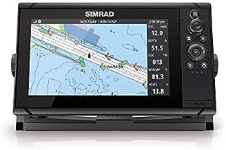 Simrad Cruise 9-9-inch GPS Chartplotter with 83/200 Transducer, Preloaded C-MAP US Coastal Maps