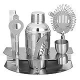 DIY & EDC MULTITOOLS Barra de herramientas del abrelatas de Martini Shaker Kit camarero coctel de acero inoxidable Mezclador
