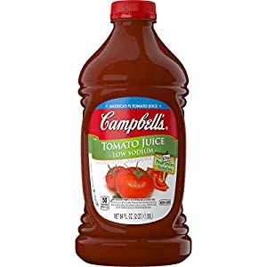 Campbell's Low Sodium Tomato Juice, 64 oz. Bottle (Pack of 6) |