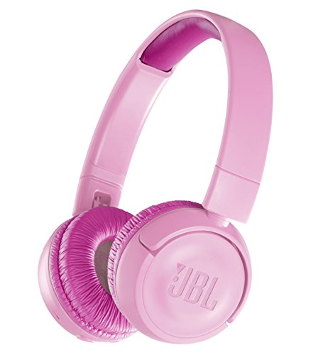 JBL JR300BT Children's Bluetooth hoofdtelefoon Volume Control Function Mounted/Customized Seal Komes with Pink JBLJR300BTPIK [Genuine Domestic/Studio with 1 jaar garantie]