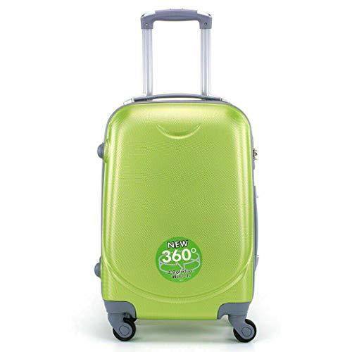 Maleta 4 Ruedas 360º Equipaje para FACTURAR Viajar Viaje 65x45x35cm Verde