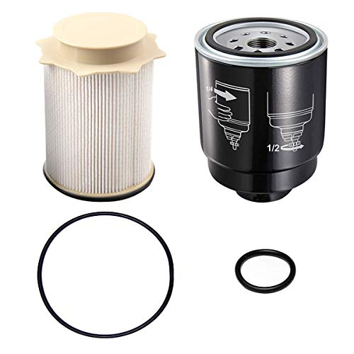 Auto Rover Diesel Fuel Filter Water Separator Set for Dodge Ram 6.7L 2500 3500 4500 5500 6.7L Cummins Turbo Diesel Engines 68197867AA 68157291AA