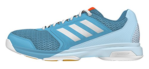 adidas Damen Multido Essence W Handballschuhe, Blauer Azuvap Ftwbla Azuhie, 40 2/3 EU