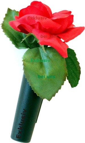 HR-Autocomfort Auto Vase Rote Rose Blumenvase mit Halter Vasenset