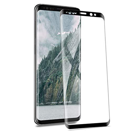 Pantalla Protector Samsung Galaxy S9 Plus [2 Piezas], HD Cristal Templado Sin Burbujas Película Protectores Transparente Anti-Arañazos Anti-Huella