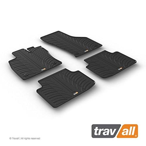 Travall Mats Gummifußmatten Kompatibel Mit Volkswagen Passat (Ab 2014) TRM1270 - Allwettermatten Nach Maß Fussmatten Set