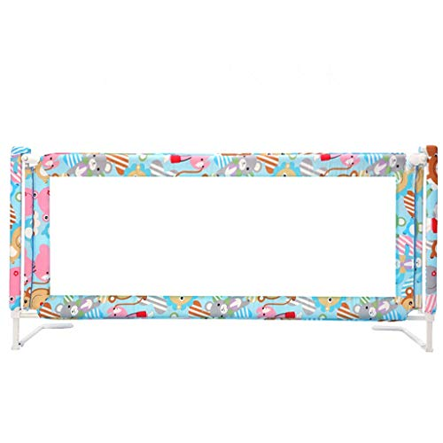 Best Bargain Huoo Baby Rails Guard Safety Vertical Lift Bed Guardrail Crib Fence Anti-Fall Child Pro...