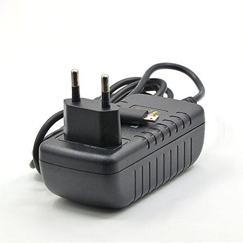 LEICKE Cargador 5V 3A Fuente de Alimentación 15W con Clavija Micro USB para Bose Soundlink Color, Mini II 2, Raspberry Pi 3, A B & Banana, Pi Model B+, JBL Flip2/3, Philips BT 50/BT 110 | Cable 1,3m