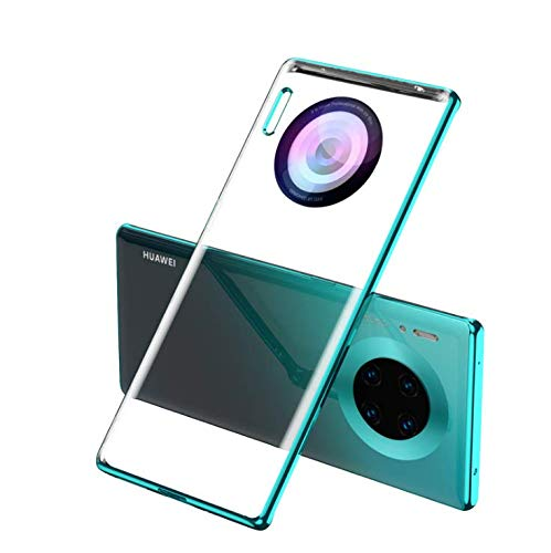 Coque Huawei mate 30 pro [Ultra Hybrid] Bumper Souple, Dos Rigide et Transparent, Protection - Air Cushion, Coque Compatible avec Huawei mate 30 pro (verde)