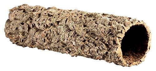 Kork-Deko Sehr große XXL Korkröhre | Korktunnel | Korkrinde | gereinigt & desinfiziert, ca. 100 cm, Ø = 11-14 cm