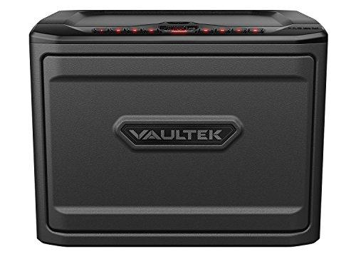 Vaultek MX High Capacity Keypad Handgun Safe Multiple Pistol Storage Bluetooth Smart Safe (Non-Biometric+Bluetooth) (Titanium Gray)
