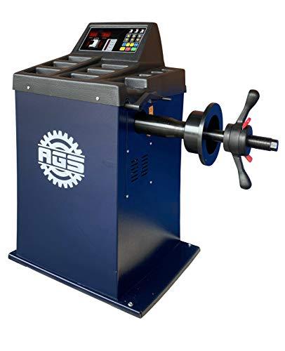"""AGS-ECO Auswuchtmaschine Reifenauswuchtmaschine Vollautomatisch 10-24"""" 230V mit Zubehör"""